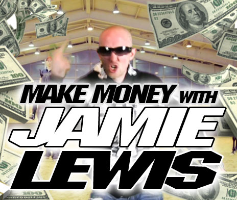 Jamie Lewis making money